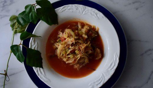 【免疫力アップ!簡単レシピ】これを知ったらきっと食べたくなるストックが効く具沢山スープ